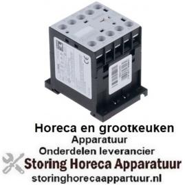 353380706 - Relais AC1 20A 230VAC (AC3/400V) 9A/4kW hoofdcontact 2NO hulpcontact 2NC BLUE SEAL