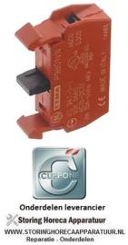 622345780 - Contactblok 10 AMP CUPPONE PIZZAFORM P/30