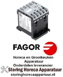 373380712 - Relais AC1 20A 230VAC (AC3/400V) 9A/4kW hoofdcontact 3NO hulpcontact 1NO