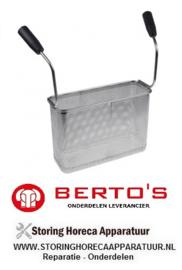 72931613800 - Pastakorf elektrische pastakoker BERTOS CPE40