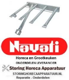 271105868 - Staafbrander 4-rijen kantel braadpan NAYATI