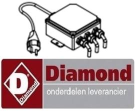 895F2718 - Printplaat 230 volt voor aardappelschilmachine DIAMOND PPF-18