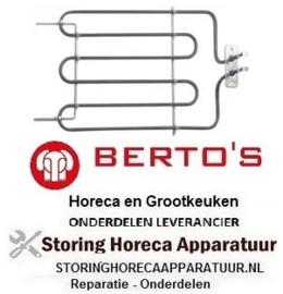 464416009 - Verwarmingselement 2300 Watt - 230 Volt salamander BERTOS