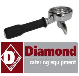 1773165001 - Diamond zeefhouder 1 CUP FILTER HOLDER ASSEMBLY EXPOBAR