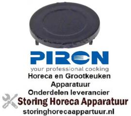 225694735 - Afsluitdop ø 32mm zwart PIRON