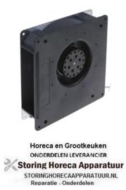 064601475 -OVEN Radiaalventilator / Branderventilator 230V spanning AC 50/60Hz 20W H1 180mm L1 180mm D1 ø 86mm B1 40mm B2 34mm