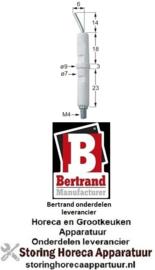 197100706 - Bougie voor friteuse 1, 2, 3 pots BERTRAND