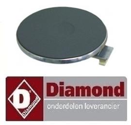 177.665.006.00 - ELEKTRISCHE KOOK PLAAT DIAMOND E7/2P4T