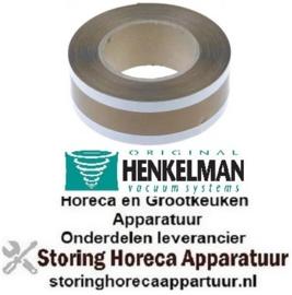 466693842 - Teflonband L 1000 mm B 46 mm dikte 0,1 mm voor vacuummachine HENKELMAN MINI JUMBO
