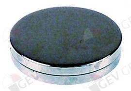 527179 -  Eindkap ø 24,3mm verchroomd