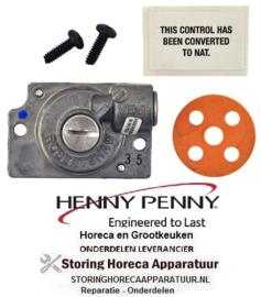 "132R-82445 - Drukregelaar 3.5"" WC HENNY PENNY"