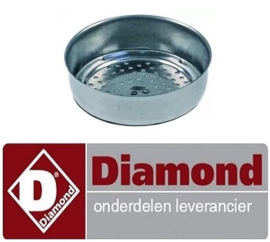 4177.50000.10 - Douche zeef ø 58mm  DIAMOND COMPACT