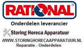 RATIONAL - HORECA EN GROOTKEUKEN STEAMER REPARATIE ONDERDELEN