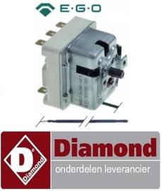 ST191310051 - Maximaalthermostaat  560°C 3-polig 20A voeler ø 3,9mm voeler L 228mm pijp ø 870mm DIAMOND MACRO42