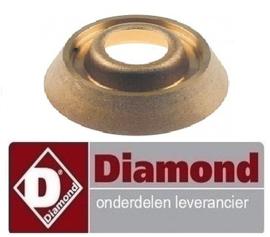 5550C0127 - Branderkop voor branderdeksel 6kW DIAMOND GASFORNUIS G22/2B4T-N