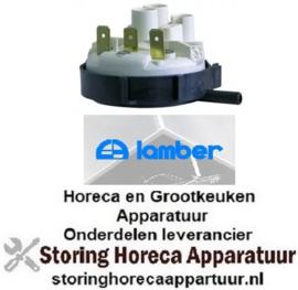 265541847 - Pressostaat drukbereik 112/70mbar aansluiting 6mm ø 58mm voor vaatwasser LAMBER