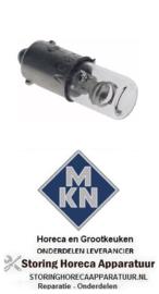 181359606 - Neonlamp fitting Ba9s 230V 2W voor MKN