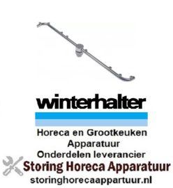 242517515 - Naspoelarm 8 sproeiers L 465mm voor vaatwasser Winterhalter