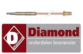 0180C0202 - Thermokoppel voor gasfornuis DIAMOND G17/2F4T-N