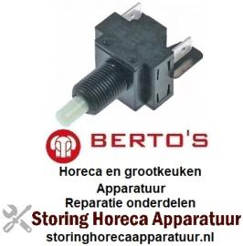 633300126 - Druktaster inbouwmaat voor BERTOS