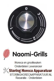 776110075 - Knop energieregelaar 1-3  NAOMI GRILL