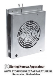 048601786 - Verwarmings unit 1600W 230V  50-60Hz ventilatorblad ø 152mm