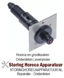071107154 - Piëzo-ontsteker behuizing kunststof drukkend aansluiting ø2,4mm ø 22mm