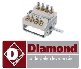 080RTBF900007 - Nokkenschakelaar bakplaat  DIAMOND  E77/PL4T-N