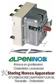 VE423390064 - Maximaalthermostaat uitschakeltemp. 220°C 3-polig voeler 133/Ø6mm capillair 1890/700mm ALPENINOX