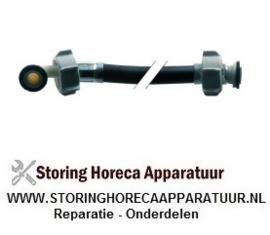 527520746 - Toevoerwaterslang nominale breedte DN10mm L 1500mm werkdruk 10bar plaatdruk 32bar recht-haaks