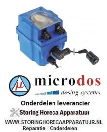 122361788 - Doseerapparaat MICRODOS geleidingsregeling 6l/h 230 VAC wasmiddel slang ø 4x6mm slang Santoprene
