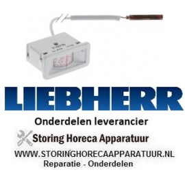 9296111959 - Thermometer -40 tot +40°C LIEBHERR