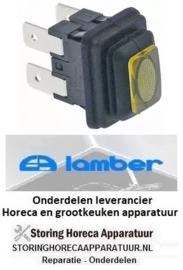 4460301003 - Drukschakelaar geel voor vaatwasser LAMBER