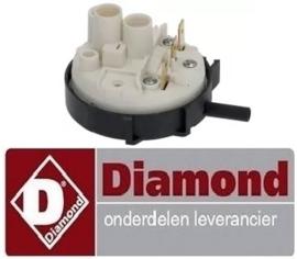 541224003 - Pressostaat drukbereik 55/35mbar voor voorlader vaatwasser DIAMOND D86