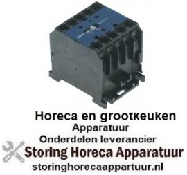 233380411 - Magneetschakelaar relais AC1 20A 24VAC (AC3/400V) 8,5A/5,5kW hoofdcontact 3NO hulpcontact 1NC - OMNIWASH