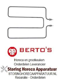 776415844 - Verwarmingselement 2600W 230V voor Bertos bainmarie