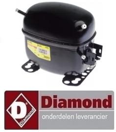 21612028143 - Compressor koelmiddel R404a - R507 voor DIAMOND SNELKOELER GTP-3/LD