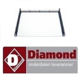 17421100350 - BINNENGLAS OVENDEUR VOOR DIAMOND C5FV6-N