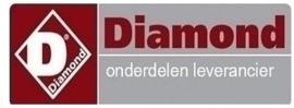 612.069.00 - KNOP ROOD- DIAMOND G65/T2BFA11