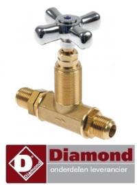 478.678.010.14 - Afsluitkraan pastakoker DIAMOND E65/CP4T(230V/3)