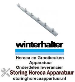 290502110 - Wasarm L 540mm 6 sproeiers voor vaatwasser Winterhalter
