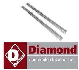 790U11X-PM - Geleiders rechts en links, GN 1/1  koelwerkbank DIAMOND DTS-10/R2
