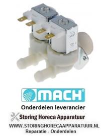 02180001537 - Magneetventiel dubbel MACH MS1100