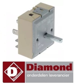 033A.040.06 - Energieregelaar worsten verwarmer DIAMOND STAR-HD/R2
