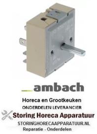 513380015 - Energieregelaar 230V 13A enkel circuit draairichting rechts AMBACH
