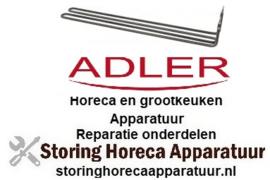 3263355080 - Verwarmingselement 2200 Watt - 220 Volt voor vaatwasser ADLER