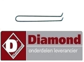 ST5665.057.00 - VERWARMINGS ELEMENT 1Kw/230v VOOR E60/PL DIAMOND