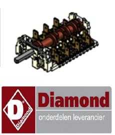 155C6250-00 - WISSELSCHAKELAAR 5 STANDEN DIAMOND DFV-423/S
