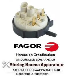 215541137 - Niveauschakelaar pressostaat drukbereik 155/40 mbar voor vaatwasser FAGOR