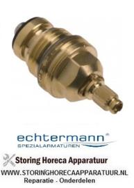 079548421 - Standaard kraan bovendeel draad 1-2 koud-  warmwater H1 17-22mm H2 31mm H3 12mm D1 ø 17,5mm D2 ø 24mm